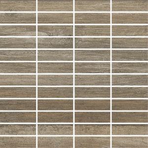 Produktbild Mosaiktafel Holzoptik Kory argent malla 30×30 matt