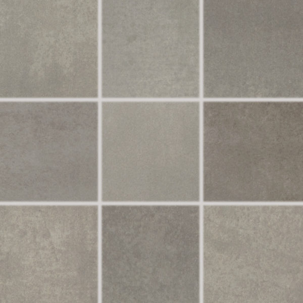 Produktbild Mosaikfliese Esta braun/grau 10×10 matt aus Feinsteinzeug