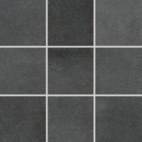 Produktbild Mosaikfliese Esta schwarz 10x10 matt