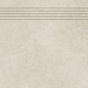 Produktbild Stufenfliese - Rillenstufe Bona hellbeige 30×60 matt