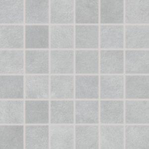Produktbild Mosaikfliese Esta hellgrau 5x5 matt