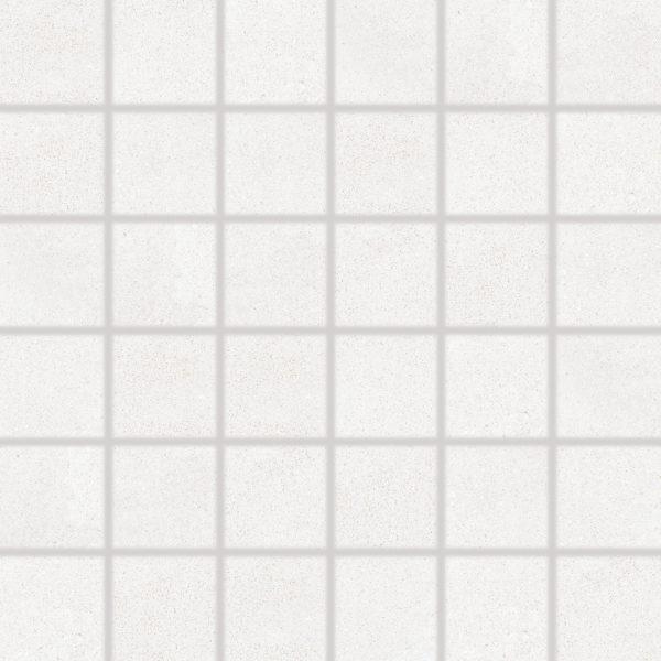 Produktbild Mosaikfliese Bona weiss/grau 5x5 matt