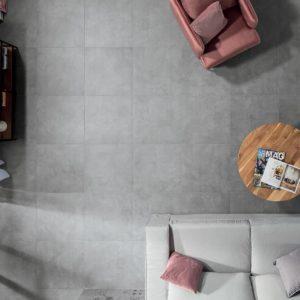 Produktbild Bodenfliese Bona grau 60x60 matt