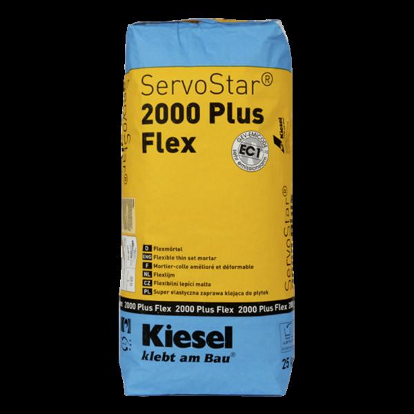 Produktbild Kiesel ServoStar® 2000 Plus Flex Fliesenkleber 25kg