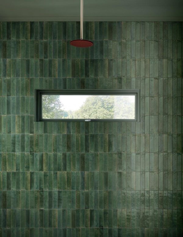 Produktbild Marazzi Lume green 6x24 glänzend