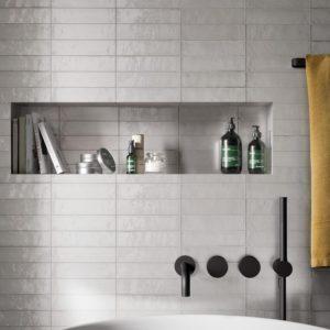 Produktbild Marazzi Lume white 6x24 glänzend