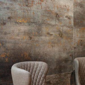 Produktbild Bodenfliese Ferox steel 60x60 lappato