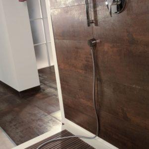 Produktbild Bodenfliese Metalloptik gold 60x60 lappato