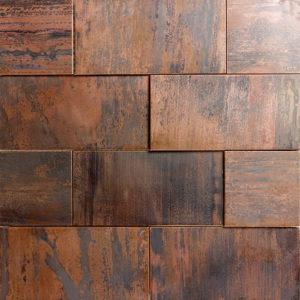 Produktbild Mosaiktafel Maurino copper mix 30x30 matt