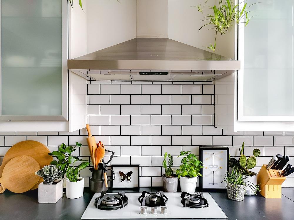 Metrofliesen für die Küche