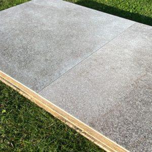 Produktbild Terrassenfliese Blanca light 75x75 matt
